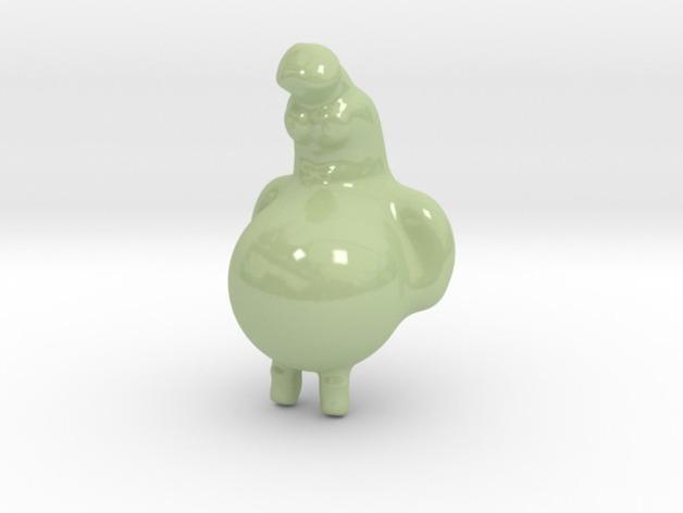 葫芦人 3D打印模型渲染图