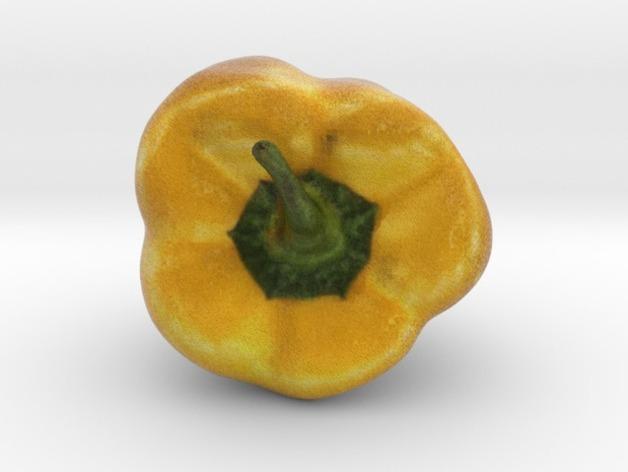 黄色的甜椒