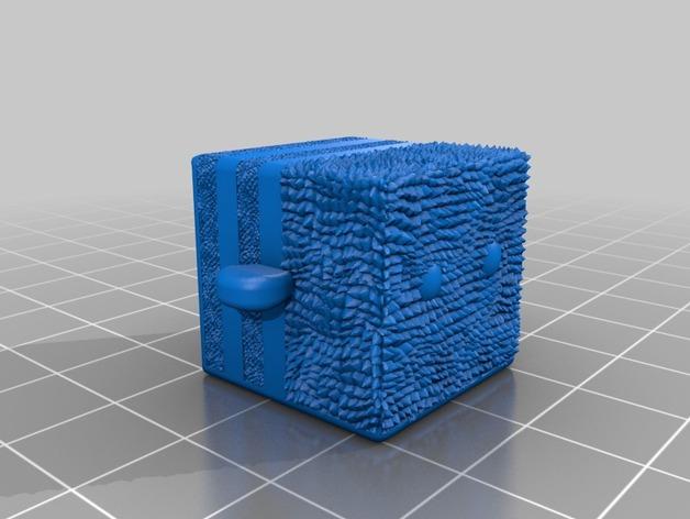 蜂箱 3D打印模型渲染图