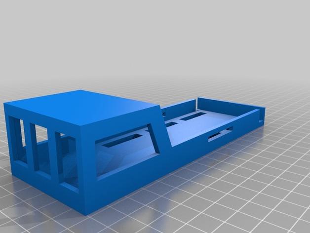 3S锂电池套 3D打印模型渲染图