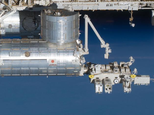 国际空间站 通信卫星