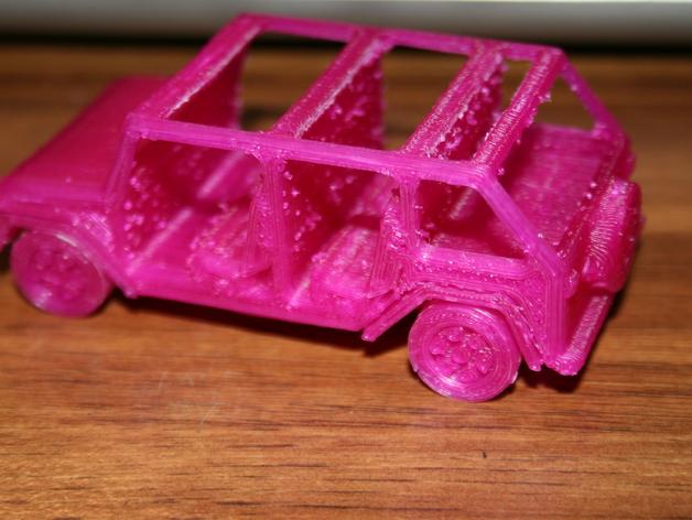 四门软顶牧马人吉普车模型