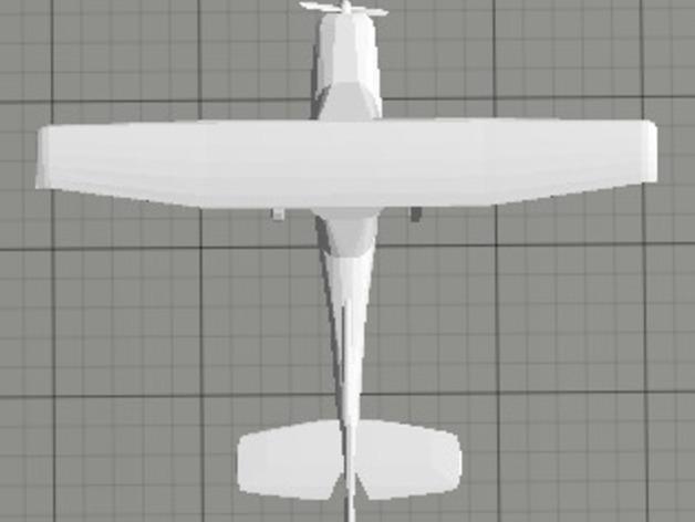 Cessna 172R塞斯纳172R飞机模型