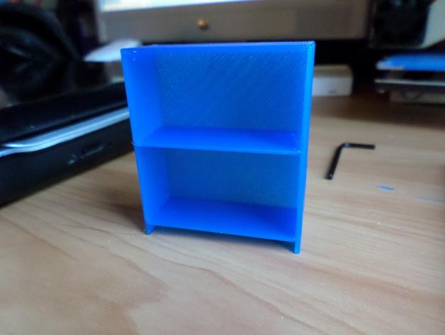 书橱 书架 书柜 3D打印模型渲染图