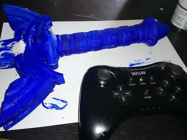 大师之剑 3D打印模型渲染图
