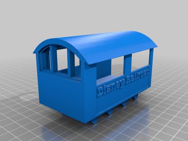 迪士尼蒸汽火车