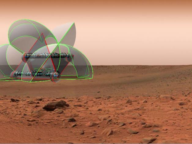 花形火星基地