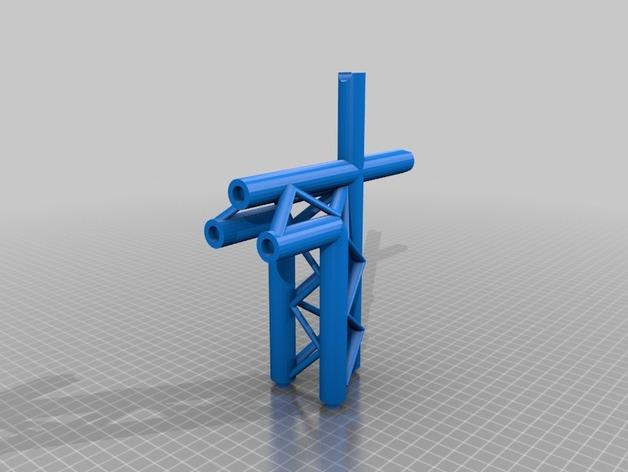 起重机 3D打印模型渲染图
