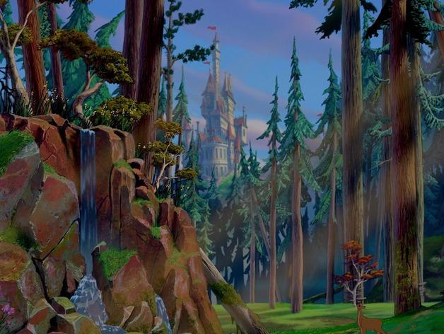 美女与野兽城堡