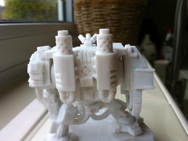 无畏号机器人替换件 3D打印模型渲染图