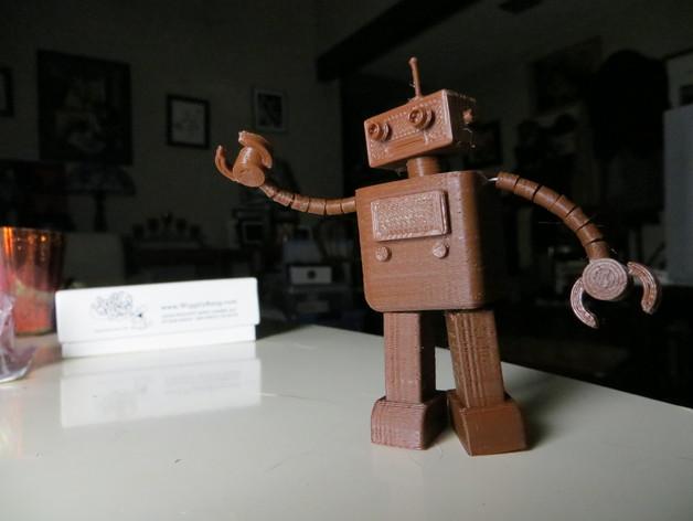 FezBot 机器人 3D打印模型渲染图