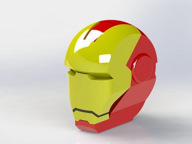 钢铁侠头部模型