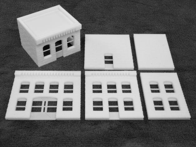 模组化的房屋