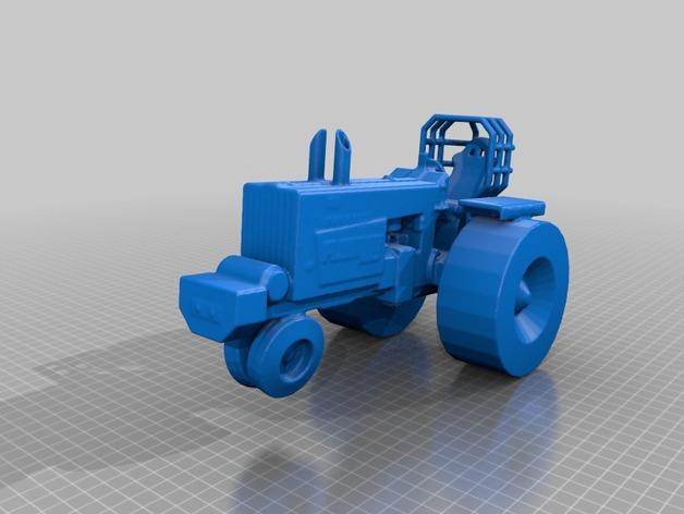法摩尔拖拉机
