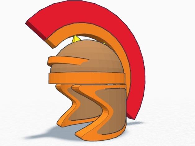 罗马人的头盔