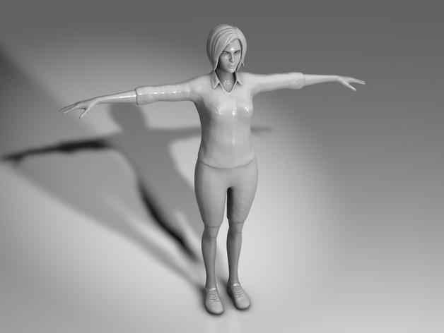 Mixamo Fuse女孩模型