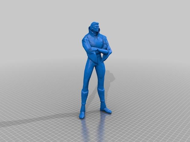 刀塔传奇Invoker人物造型模型