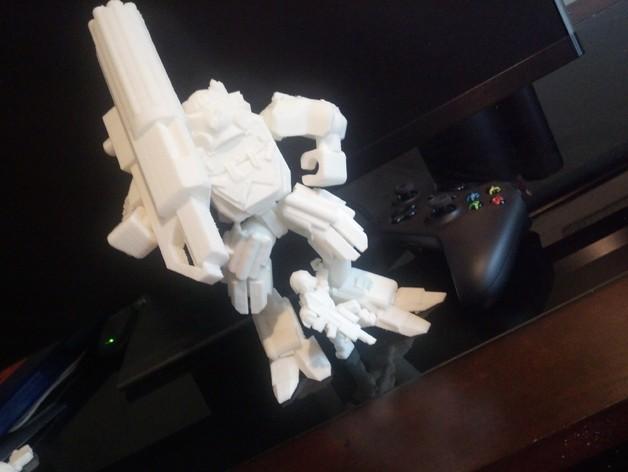 泰坦陨落大力神Atlas模型