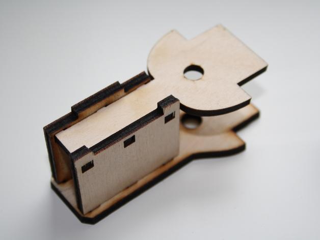 宜家玩具火车轨道底座 3D打印模型渲染图