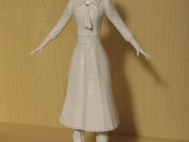 生化奇兵 伊丽莎白模型