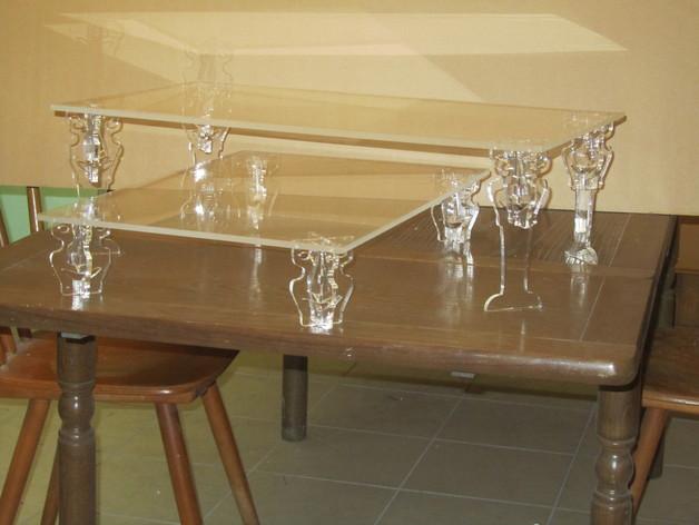 桌子  3D打印模型渲染图
