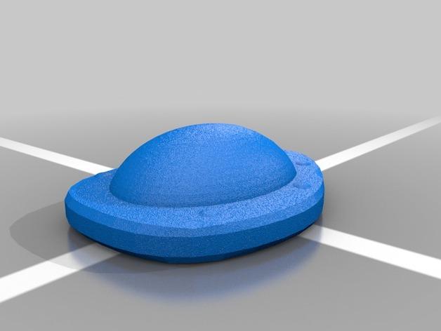 口袋妖怪 龟壳化石 3D打印模型渲染图