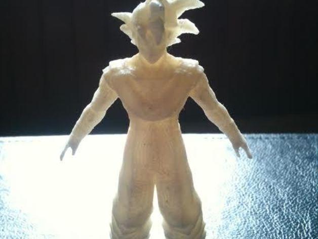 悟空 七龙珠  3D打印模型渲染图