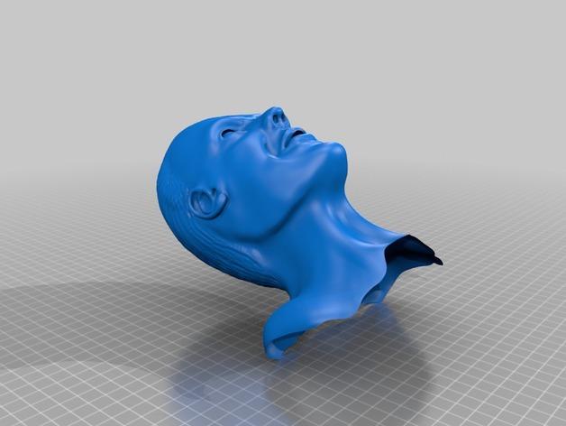 汉尼拔·莱克特头部模型