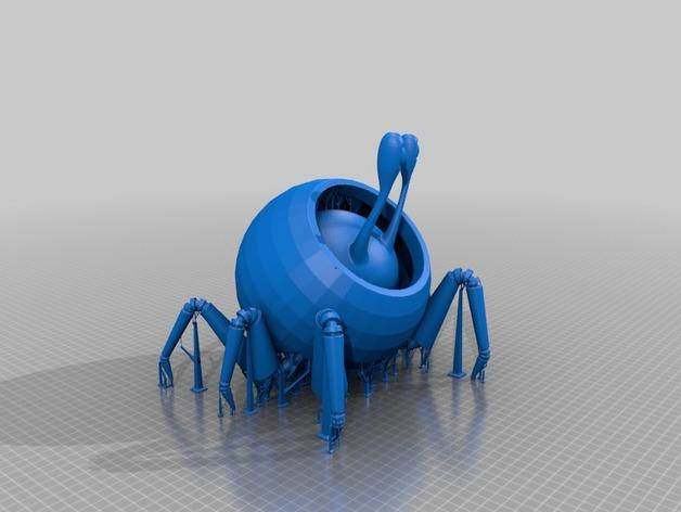 蜗牛爬行机