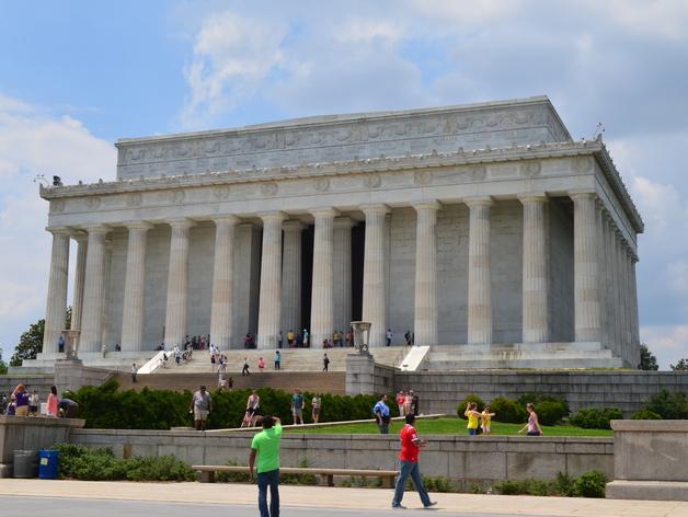 林肯纪念馆 3D打印模型渲染图