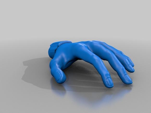 手  3D打印模型渲染图
