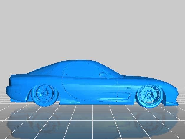 Mazda RX-7 马自达跑车