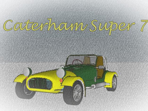 Caterham Super Seven复古跑车