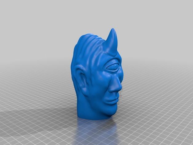 独眼巨人头部模型