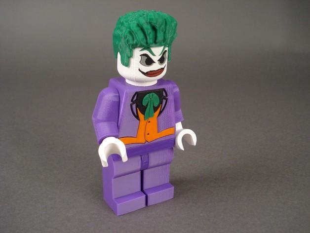 小丑 3D打印模型渲染图
