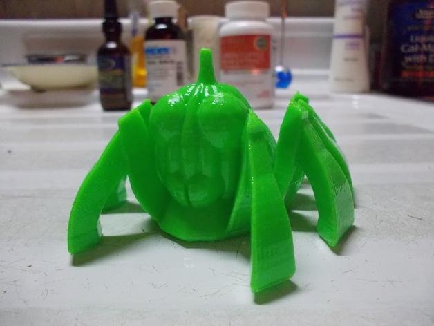 南瓜蜘蛛机器人