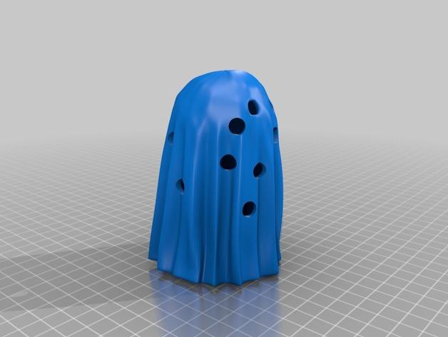 幽灵 3D打印模型渲染图