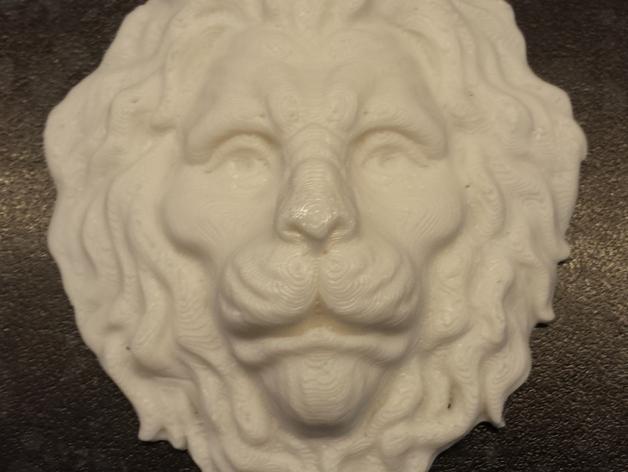 狮子头 3D打印模型渲染图
