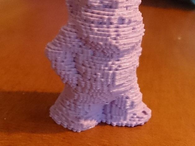 乐高小矮人 3D打印模型渲染图