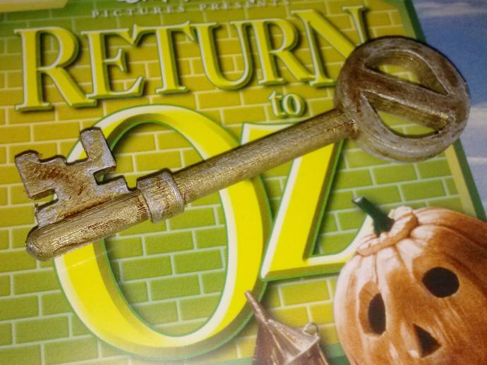 Return to Oz天魔历险 钥匙 3D打印模型渲染图