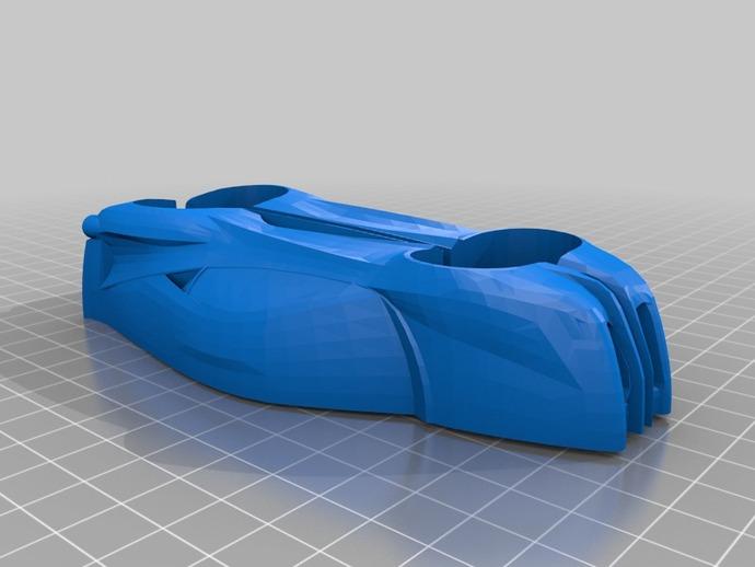 法拉利458跑车  3D打印模型渲染图