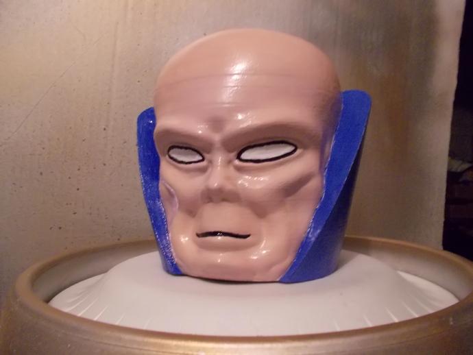 观测者Uatu 人物头部模型 3D打印模型渲染图