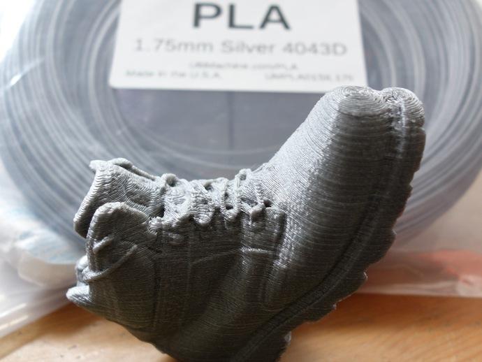 工装靴 靴子 3D打印模型渲染图