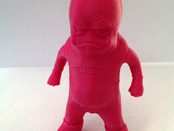 玩具外星人 3D打印模型渲染图