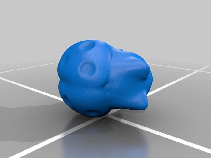 猫咪瓢虫 3D打印模型渲染图