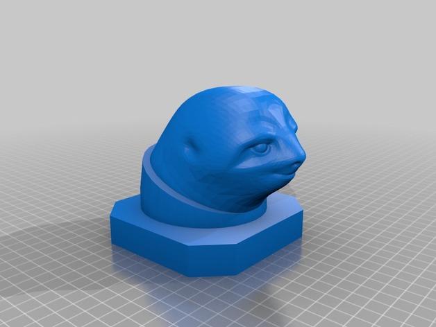 Sloth 半身像制作模具