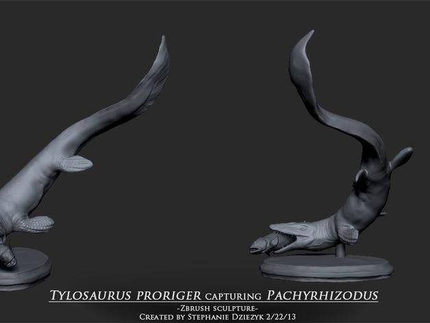 海王龙  3D打印模型渲染图