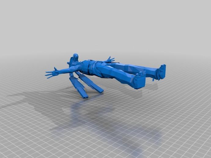 JAR JAR BINKS加·加·宾克斯 3D打印模型渲染图