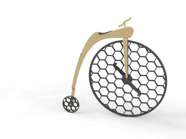 Penny Silva 自行车 3D打印模型渲染图