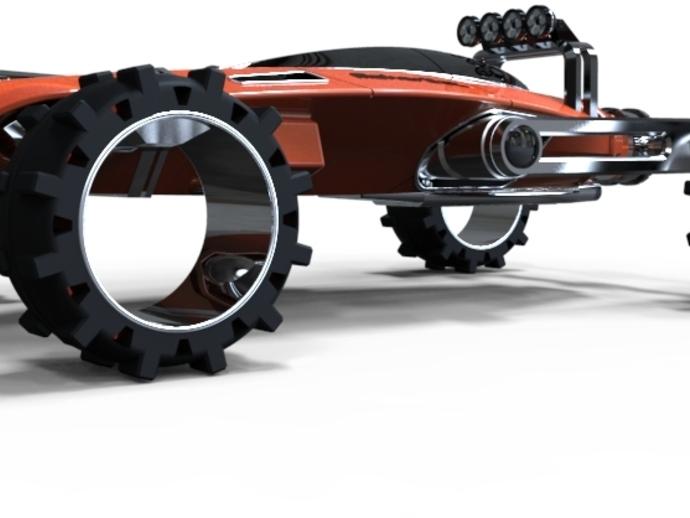 未来式越野车